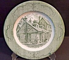 "The Old Curiosity Shop Royal China Dinner Plate 10""  MINT!"