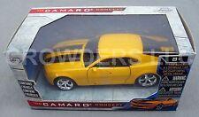 Jada '06 Chevrolet Chevy Camaro Concept 1:32 Yellow Black Stripes Door Open 2008