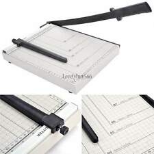 "12"" Paper Cutter Trimmer Craft Scrap Booking Desktop Guillotine Sheet Photo Desk"