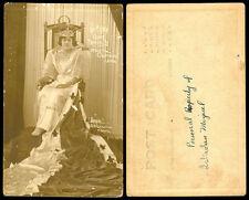 Philippines 1924 Manila Carnival Queen Trining II RPPC 5