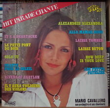 MARIO CAVALLERO POP HITS VOL. 38 CHEESECAKE COVER FRENCH LP