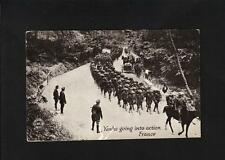 NEWSPAPER The Chicago Daily News WWI War Postal Card Dept Yanks Action Unused w2