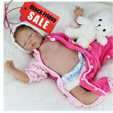 "22"" Realistic Reborn Baby Dolls Newborn Boy  Lifelike Soft Vinyl Body Dolls gift"