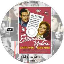 Eternally Yours  - Loretta Young, David Niven  Film on DVD 1950