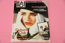 """RARO RIVISTA DISCOGRAFIA LP 7"""" EX N° 170 DONATELLA MORETTI CULTURE CLUB DRAKE .."""