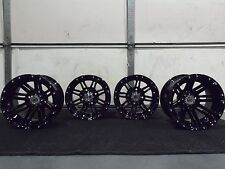 "12"" STI HD3 BLACK  ATV WHEELS COMPLETE SET 4  LIFETIME WARRANTY SRA1CA"