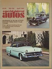 SIA Special Interest Autos April 1980 (1958 Star Chief, 1953 Ford Crestline Vic)