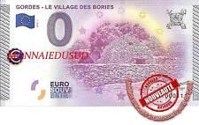 Billet Touristique 0 Euro 2015 - Gordes Le Village des Bories