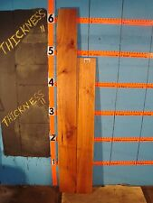 "# 9112  7/8"" THICK rustic knotty cherry boards wood lumber rustic"