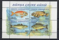 TURCHIA-TURKEY  2005 Bf 57 Pesci MNH