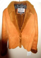 Pelle Studio Wilson's Sheepskin Shearling Winter Jacket Coat Size M
