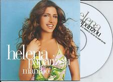 HELENA PAPARIZOU - mambo! CD SINGLE 2TR CARDSLEEVE 2006 BELGIUM (ARS)