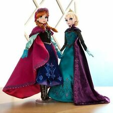 Disney's Store Frozen Limited Edition Doll Set Elsa and Anna 1 of 5000