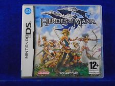 ds HEROES OF MANA Real Time Strategy RPG Lite DSi 3DS PAL UK Version REGION FREE