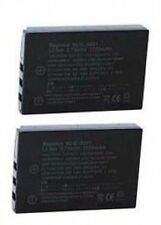 2 KLIC-5001 Batteries for Kodak Easyshare DX-6490 DX-7590 P712 P850 P880 Z7590