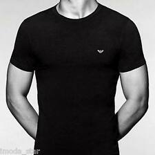 Emporio Armani Men's Cotton Logo Crew Neck T-Shirt  - size S