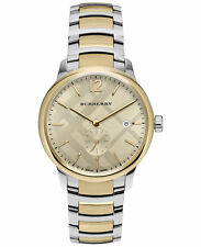 Burberry Men's The Classic Round Two-Tone Stainless Steel Watch, MSRP $745