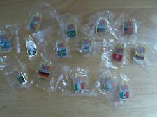 World Cup Soccer Pins Lot of 16 from1994 Games in USA McDonalds Promotion