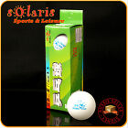6x Double Fish 2-Star White 40mm Table Tennis Ping Pong Balls CTTA Approved