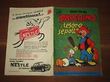 WALT DISNEY ALBO D'ORO N°8 PAPERINO E IL TESORO SEPOLTO 26-2-1956