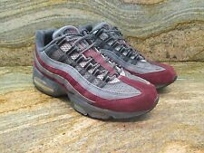 2004 Unreleased Nike Air Max 95 Sample SZ 9 Grey Maroon Promo Supreme OG 3M