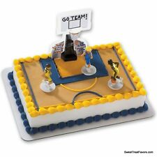 Basketball Cake Decoration Topper Kit Cupcake Birthday Boy Sports Net Game Team