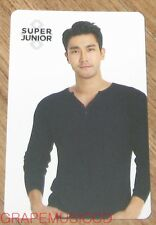SUPER JUNIOR SMTOWN COEX Artium SUM GOODS SIWON LIMITED EDITION PHOTO CARD