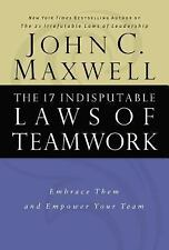 The 17 Indisputable Laws of Teamwork HB John Maxwell