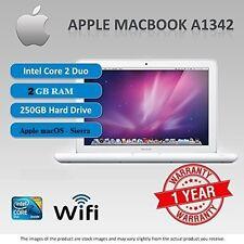 """Apple MACBOOK A1342, 13,3 """"MacOS 10.12, SIERRA - 2,26 GHz - 2 GB di RAM - 250 GB HDD"""