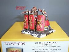 CONTE ROME009 ROME AT WAR ROMAN LEGIONAIRES SHIELD WALL TOY SOLDIER FIGURE SET 1
