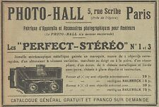 Z8025 PHOTO-ALL - Les Perfect Stéréo -  Pubblicità d'epoca - 1910 Old advert