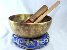 """9"""" Singing Bowl - Tibetan Singing Bowl - Meditation Bowl-Handmade Bowl - 7 Metal"""