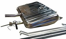 68 69 Buick Olds STAINLESS STEEL gas fuel tank kit with 2 line sender and straps