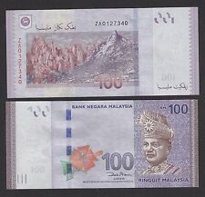Malaysia 100 Ringgit (2011) #ZA REPLACEMENT Banknote P55 - UNC