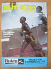 ATHLETICS WEEKLY JANUARY 27th 1979 HENRY RONO