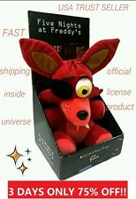 "Five Nights at Freddy's FOXY 10"" Plush Rare Official Sanshee License collectible"
