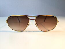 Vintage Cartier Tank Louis LC SUNGLASSES MEDIUM GOLD PLATED Vendome Vitesse 2