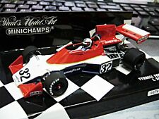 F1 TYRRELL Ford 007 Cosworth 1975 #32 Scheckter  1/1008 limited Minichamps 1:43