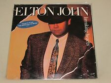 Elton John Breaking Hearts 1984 Geffen Records GHS-24031 POP ROCK Sealed LP