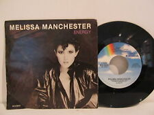 45 RECORD MELISSA MANCHESTER-ENERGY        MINT NEW PICTURE/SL