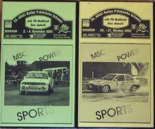 2 x Video Best of Rallye Fränkische Schweiz 2001 & 2002 - BMW M3, Ford Escort,..