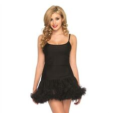 Petticoat Dress New Adult Womens Valentine Sexy Clothing Black Medium - large