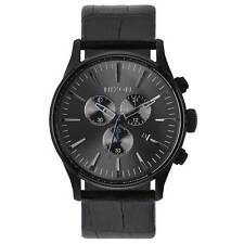 Nixon A4051886 Gent's Sentry Black Dial Black Strap Chrono Watch
