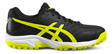 Asics Gel-Lethal MP 7 para hombre Hockey Zapatillas Zapatos P616Y 9007 Sports Negro UK 14
