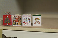 DOLLS HOUSE (  4  Loverly Xmas Carrie Bags