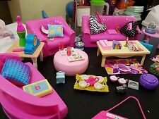 Barbie Doll Living Room Furniture Sled Skiddo Camping Gear