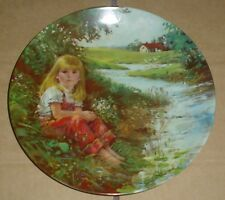 1987 Wings Upon The Wind Winter Home Canada Goose' Plate With Coa
