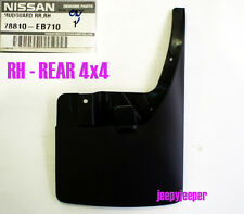 RH REAR 4x4 4WD MUD FLAP SPLASH GUARD FOR NISSAN FRONTIER NAVARA D40 2004 - 2012