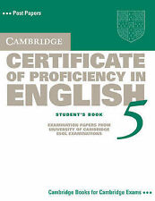 Cambridge Certificate of Proficiency in English 5 Student's Book: Examination Pa