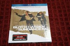 Butch Cassidy and the Sundance Kid (Blu-ray Disc, 2011, Limited Edition;...